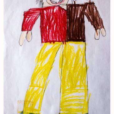 Pitääkö lapsen tekemä taide säilyttää?