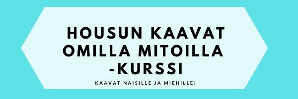 Housun kaavat omilla mitoilla - Kaavakoulu
