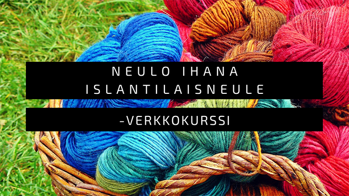 Islantilaisneule - Luovuuspaja Keinusta selkeät ohjeet